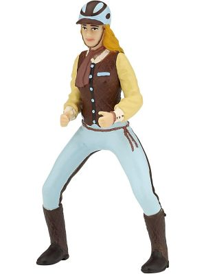 Papo 52009 Paard Trendy paardrij dames blauw