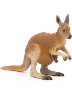 Papo Wild Life Kangoeroe jong met buidel 50188
