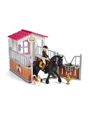 Schleich 42437 Pferdebox mit Horse Club Tori & Princess