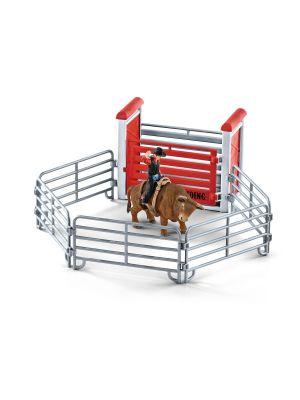 Schleich 41419 Bullenreiten mit Cowboy