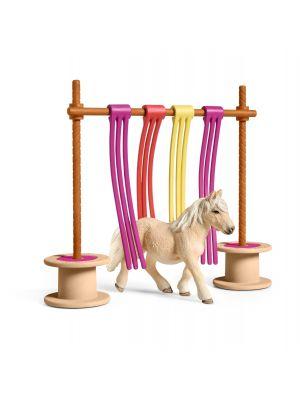 Schleich Farm World 42484 Pony Flatter Vorhang