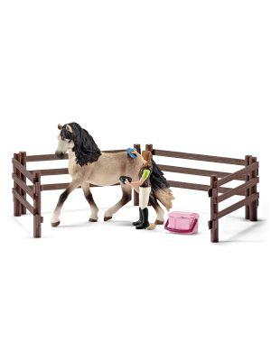 Schleich 42270 - Pferdepflegeset Andalusier