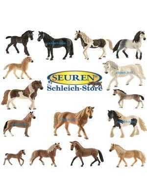 Schleich Pferde Set 2017 15 Pferde