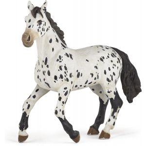 Papo Horses Zwarte Appaloosa Paard 51539