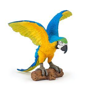 Papo Wild Life Blue Macaw Parrot 50235