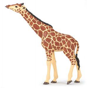 Papo Wild Life Giraf met opgeheven Hoofd 50236