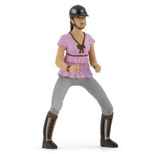 Papo Pferd Trendy Rider Girl Pink 52006