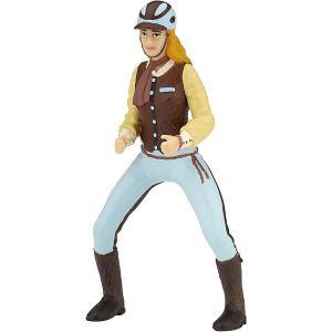 Papo Horses Paard Trendy paardrij dames blauw 52009