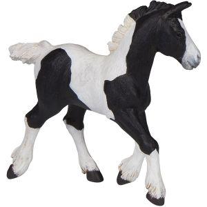 Papo Horses Paard Zwart Cob Veulen
