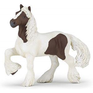Papo 51513 Paard Bruin Witte Ierse Cob Paard