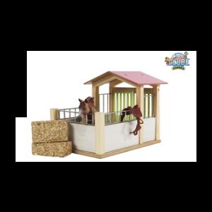 Kids Globe Pferdebox pink (exkl. Zubehör) 610206