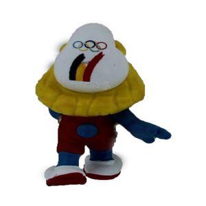 Schleich 40268 Belgischen Olympiamannschaft Schlumpfine Staffelläufer Limited Edition