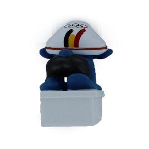 Schleich 40269 Belgischen Olympiamannschaft Swimmer Schlumpf 2012 Limited Edition