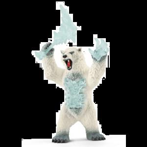 Schleich Eldrador 42510 Blizzard Bär mit Waffe