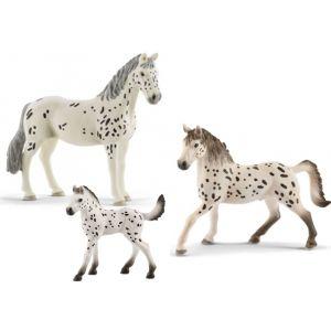 Schleich Horse Club Knabstrupper Paarden set 2020