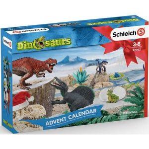 Schleich 97982 Adventskalender Dinosaurier 2019 mit 24 tolle Überraschungen