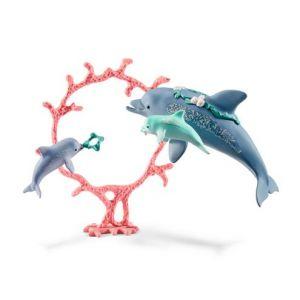 Schleich 41463 Bayala Delfin-Mama mit Babies