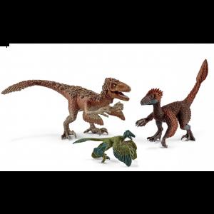 Schleich 42347 Dinosaurus Gefiederte Raptoren