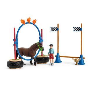 Schleich Farm World 42482 Pony Agility Rennen