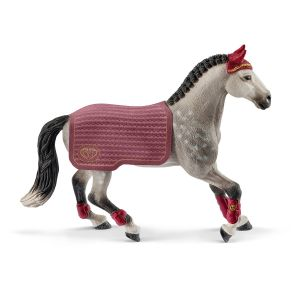 Schleich Pferd 42456 Trakehner Stute Reitturnier