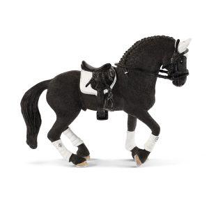 Schleich Pferd 42457 Friese Hengst Reitturnier