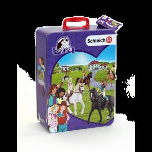 Schleich Pferde Horse Club Sammelkoffer mit Platz für 10 Pferde