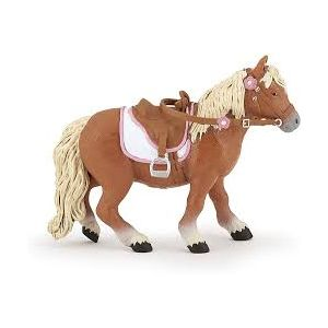Papo 51559 Paard Shetland Pony Met Zadel