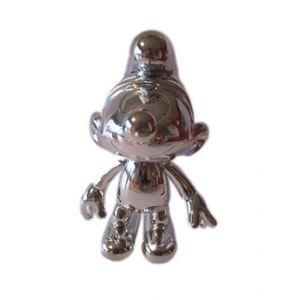 Silber farbige schlumpf 20 cm